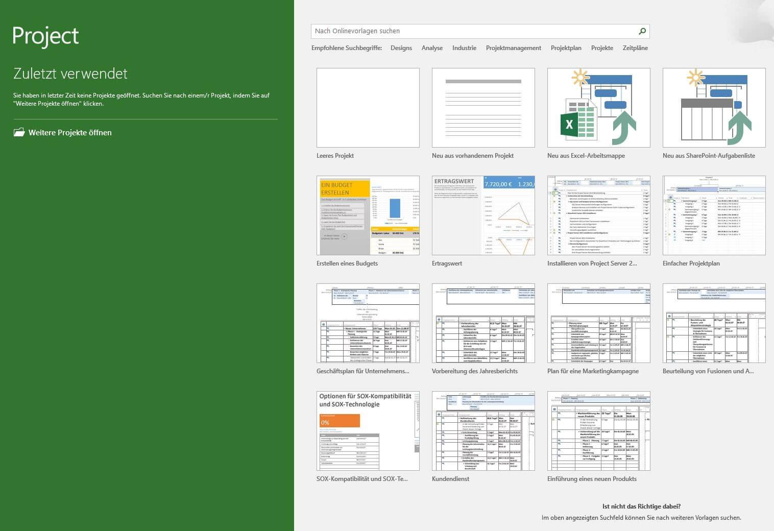 Erste schritte einfache anleitung ms project screenshot von ms project baditri Choice Image