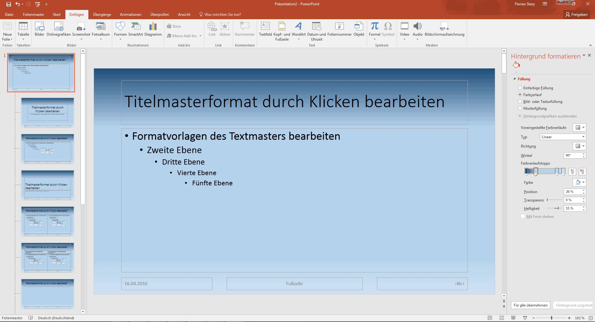 PowerPoint * Masterfolie bearbeiten * easy Anleitung