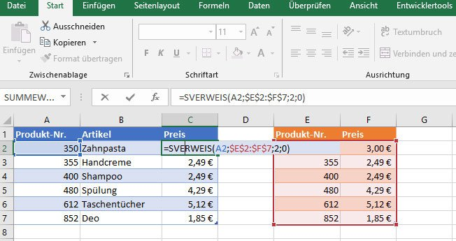 Microsoft-Excel-SVerweis-einfach-erklärt