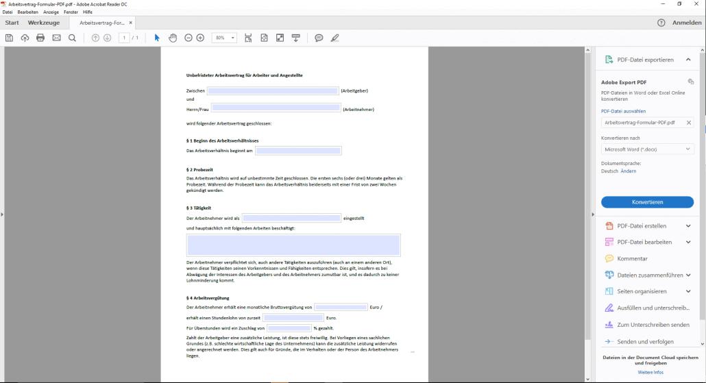 Pdf dokument in word einfügen