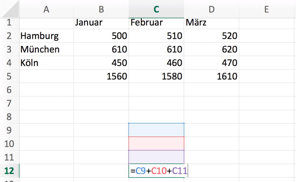 Excel Formeln Einfach Unkompliziert Rechnen Mit Microsoft Excel 2016