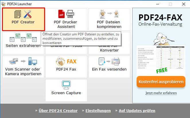PDF24-PDF-Creator