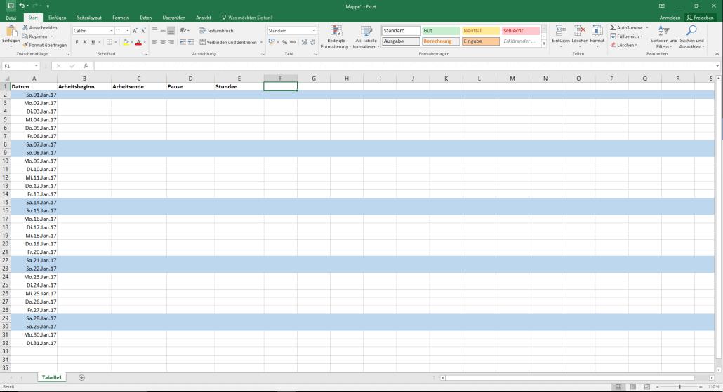 Ungewöhnlich Microsoft Excel Bildet Vorlagen Aus Fotos - Entry Level ...