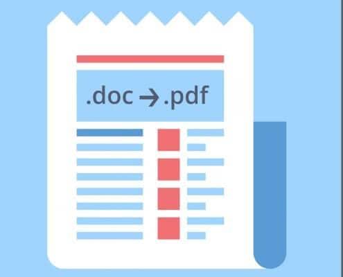 Word-Datei in PDF umwandeln