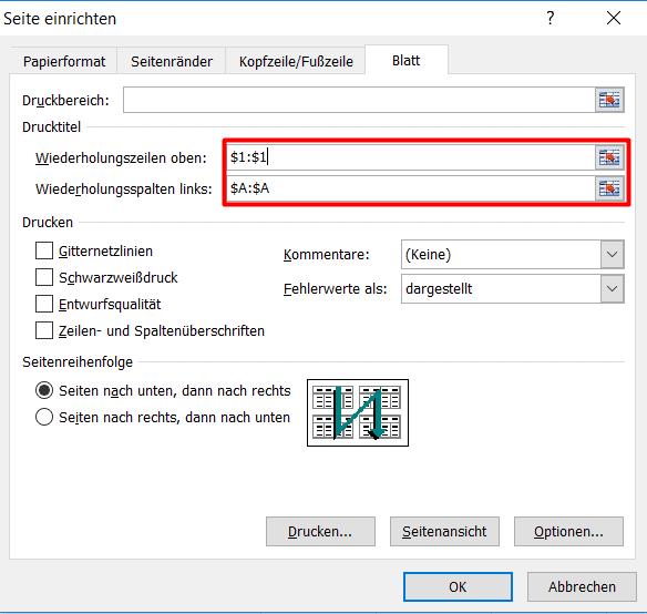 In Excel Druckbereiche festlegen – jetzt ganz einfach| AS Computer