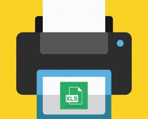 AS Computer - Excel-Tabellen ausdrucken