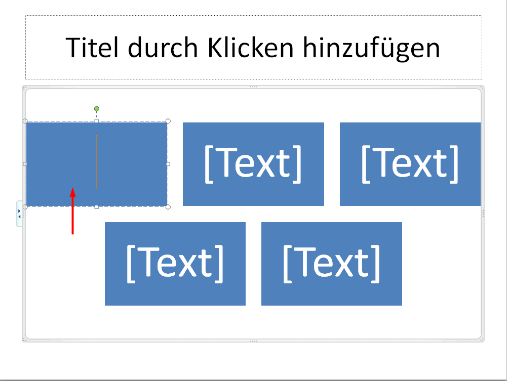 Text in SmartArt-Grafik einfügen