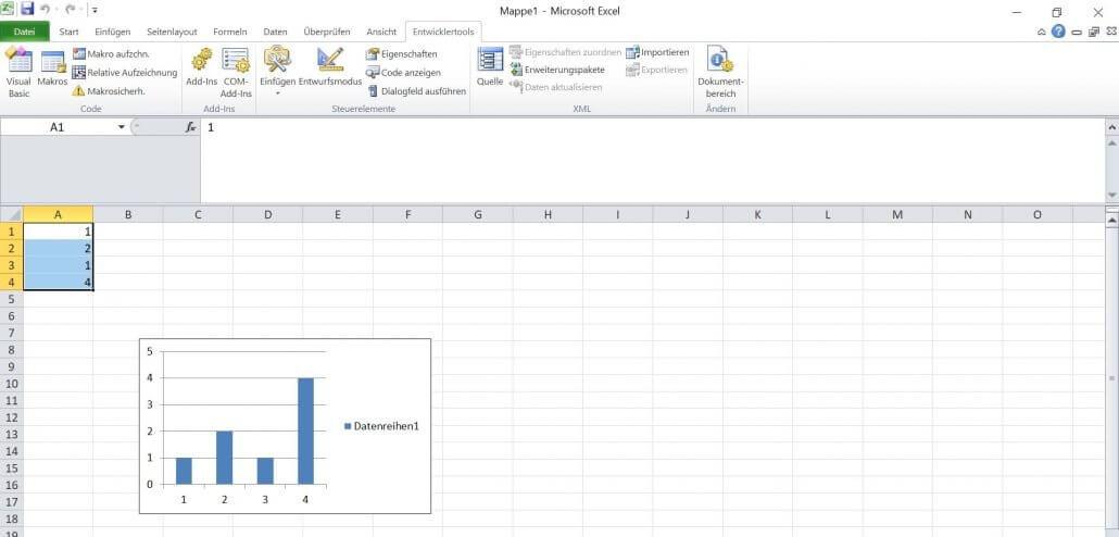 Excel - Diagramm