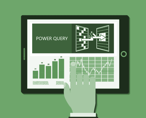Grafik Excel Power Query