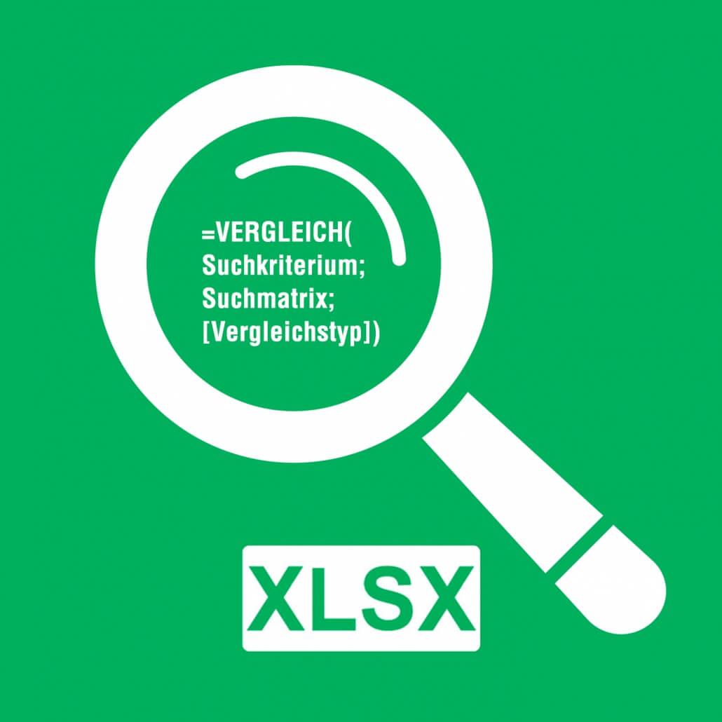 Titelbild Excel Vergleichsfunktion