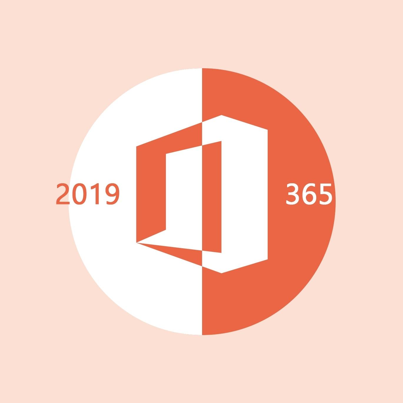 Titelbild Microsoft 365 vs Office 2019